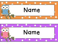 Free a welcome sign to add to your classroom door parent packet owl theme classroom editable pronofoot35fo Gallery