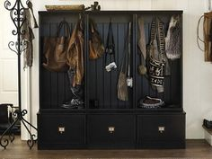 Get expert tips for organizing you stuff to utilize a mudroom in the best way possible on HGTV.com.