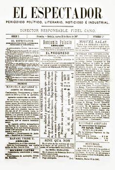 Primera_edición_de_El_Espectador_(22_mar._1887).jpg (806×1198)