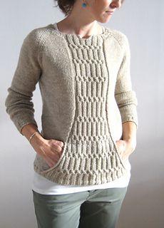 Tejidos - Knitted - Ravelry: Miranda pattern by Josée Paquin Knitting Designs, Knitting Projects, Knit Or Crochet, Ravelry Crochet, Pulls, Hand Knitting, Knitting Patterns, Sweaters For Women, Monika Jagaciak