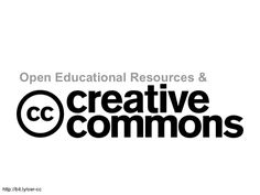 Ever wondered if you should use the work of others in your own products? How do you attribute these resources? How can you share educational resources openly while protecting your rights? Find out more about Open Educational Resources and Creative Commons (CC) and a new way of using and sharing resources.