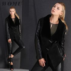 Newest genuine sheep leather female short outerwear full pelt sheep shearling overcoat Material: Genuine Sheepskin Color: Black 100% Genuine Fur Size: S/M/L/XL/XXL/XXXL Please contact me before your pay, I will recommend the most suitable size to you! Payments It's better to pay via USA instead of RMB if by Credit Card. Thanks a lot. Orders ...