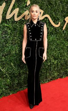Rita Ora from 2015 British Fashion Awards Red Carpet Arrivals | E! Online