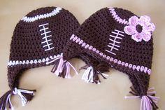 boy or girl football hats!