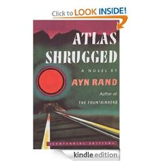 Atlas Shrugged: (Centennial Edition) - taking me a while to make it through this book, don't necessarily agree with everything, but it's quite interesting and very revolutionary for the time.