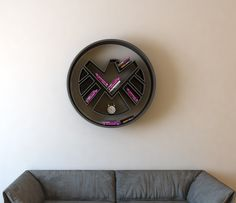 S.H.I.E.L.D. logo, shelf, interrior, bookshelf on Behance