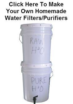 Emergency Water Filter Bucket Purifier