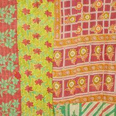 Fab: Vintage Kantha Quilt, at 75% off!