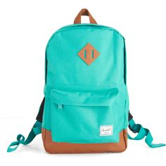 Herschel Supply Co. Emerald Waters Backpack ($55) ❤ liked on Polyvore