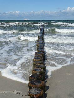 Baltische Zee, Zee, Water, Strand, Golf, Krib