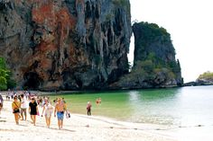 Phra Nang Beach, Krabi, Thailand Krabi Thailand, Beach, Water, Outdoor, Travel, Water Water, Outdoors, Aqua, Outdoor Games