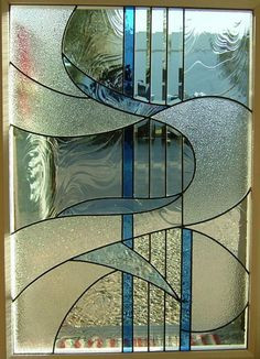 Abstract Glass Designs