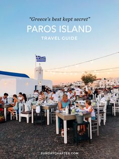 Paros Island Travel Guide: Greece's Best Kept Secret Sunday Chapter's Guide to: Paros Island, Greece When traveling back to Europe this summer, there was one thing I wanted. Greek Islands Vacation, Best Island Vacation, Greece Vacation, Greece Travel, Greece Trip, Greece Honeymoon, Visit Greece, Greece Itinerary, Holiday Destinations