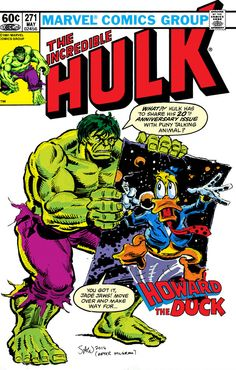 Incredible Hulk and Howard the Duck by Soulman-Inc.deviantart.com on @deviantART