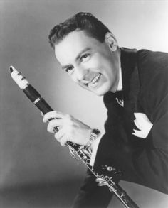 """Woody Herman [1913, Milwaukee, WI - 1987, West Hollywood, CA] was a jazz clarinetist, alto and soprano saxophonist, singer, and big band leader. His bands often played music that was experimental for its time. Leading various groups called """"The Herd"""", Herman was one of the most popular of the 1930s and 1940s bandleaders."""