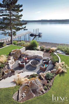 45 best lakeside landscape images landscaping diy landscaping rh pinterest com