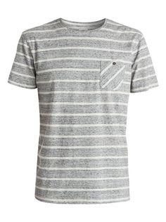 quiksilver, Pocket Snap Modern Fit T-Shirt, Highrise-h (sgrh)