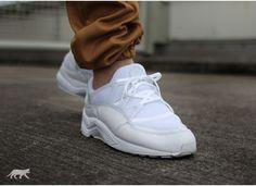 Nike Air Huarache Light (White / White - White)
