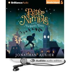 My friend Tracy gave me the audio version of this new children's book. It is great!!! I highly recommend it for anybody over the age of 7 or 8! It is a great middle grade fantasy story