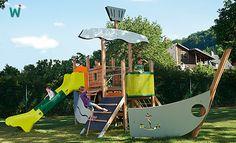 #Schiff ahoi und #Leinen los! Über die Rampe oder das Kletternetz kann die #Mannschaft an #Bord und dann auf Abenteuerreise gehen. ► https://shop.wehrfritz.de/de_DE/Schiff-Komplettanlagen-Aussenspielgeraete/p/429114_1?zg=aussenspielgeraete&ref_id=60847 #Rollenspiel #Fantasie #Abenteuer #lernen #Kinder #Outdoor #Kita #Kindergarten #Schule #Spaß #Spielen #Spielgerät #Spielplatz #Rutschen #klettern #Bewegung #aktiv #Sport #Holz #grün