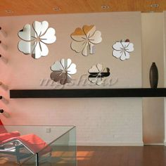 Fashion-Silver-Acrylic-3D-Mirror-Effect-Wall-Sticker-Home-Decor-Removable-Art
