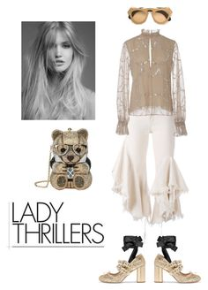 """""""Lady Thrillers"""" by zabead ❤ liked on Polyvore featuring Miu Miu, Judith Leiber, Marques'Almeida, Alexis and Marni"""