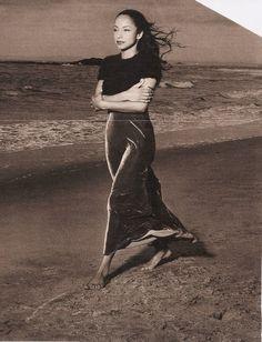Sade on the beach