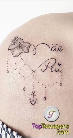 The 120 Best Written Tattoos to Get Inspired! Mini Tattoos, Love Tattoos, Unique Tattoos, Beautiful Tattoos, Body Art Tattoos, Tatoos, Mommy Tattoos, Mother Tattoos For Children, Tattoo Femeninos