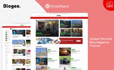 Multi-Concept Blog, Magazine & News WordPress Template By PixelTemplate | TemplateMonster