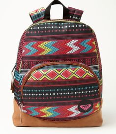 0dfdca3cee15 eeek love it! great for bonnaroo  ) Roxy Backpacks