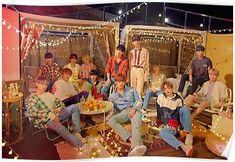 'Seventeen You Make My Day Set The Sun Group Photo' Poster by kpop deals ❤ Jeonghan, Wonwoo, Seungkwan, Make My Day, You Make Me, K Pop, Hip Hop, Seventeen The8, Dino Seventeen