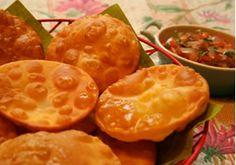 Sopaipillas - Receta Boliviana - El Sabor de Bolivia - Bolivia.com