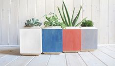 Mediterranean Colors: Planter Boxes from Yield Design - Gardenista