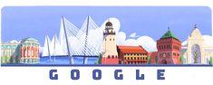 День России Russia Day, Russia 2018, Paul Klee, Google Anniversary, Google Doodles, Creative Artwork, Logo Google, Discovery, Taj Mahal