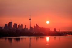 Photograph Sunrise over Toronto by Xitij Ritesh Patel on 500px