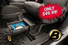 Save Up To $7 on Bestop Locking Underseat Storage Boxes