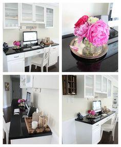 {DIY Kitchen Office!}