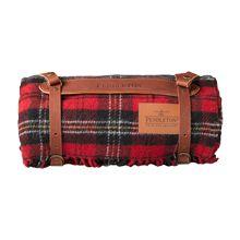 Pendleton Red Tartan Travel Blanket