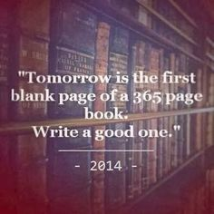 2014 is gonna be my biggest year yet, I can feel it!