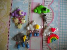 Weather Charm by KriddlesCouture on Etsy, $5.50