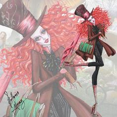 The Tim Burton Fashion Collection by Guillermo Meraz - The Mad Hatter