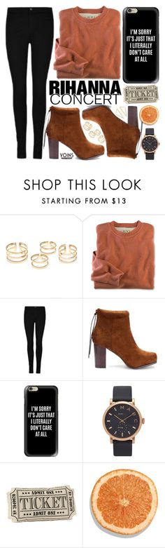 """""""Hot Ticket: Rihanna Concert"""" by vanjazivadinovic ❤ liked on Polyvore featuring Casetify and Marc Jacobs"""