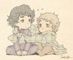 baby sherlock and john