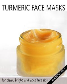 DIY 5 turmeric face masks for Clear, Bright & Acne Free Skin