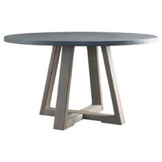 """Check out this item at One Kings Lane! Finlay 54"""" Dining Table, Driftwood"""