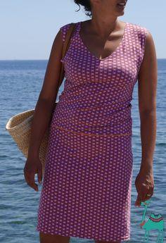 Lange habe ich mit dem Strandkleid von Kibadoo geliebäugelt… Immer wieder guckte ich ein bißchen neidisch zu den Kleidern meiner Mädels. Aber bei Jerseykleidern, bin ich ja immer vorsichtig, …