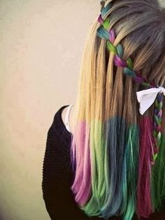 peinados de colores - Buscar con Google