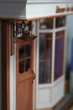 Lovely Millinery Shop storefront, Hinazo Miniature & Dollhouse