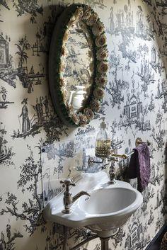 A castle inNormandy - desire to inspire - desiretoinspire.net - D.mesure - toile wallpaper
