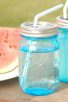 DIY - Canning Jar Cup with Straw